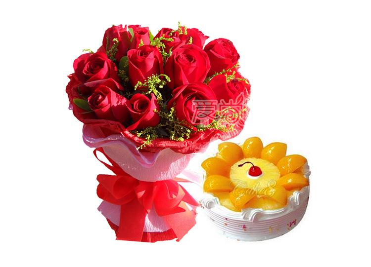 达州通川区鲜花-你是我的唯一