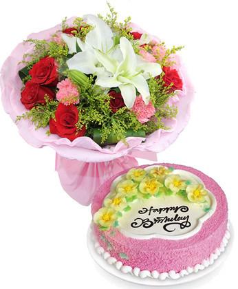 西安鲜花:愿幸福