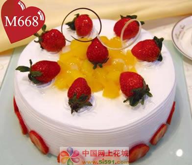 威海生日蛋糕:佳期如梦