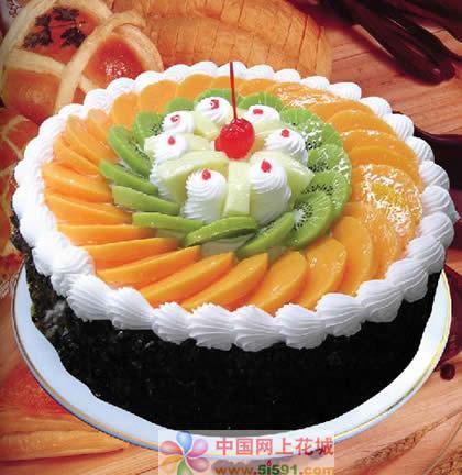苏州生日蛋糕:缘分天空