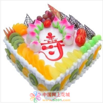 福州鲜花-蟠桃贺寿