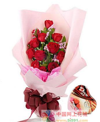 无锡鲜花:倾心爱你