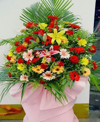 嘉兴订花:宏图大展