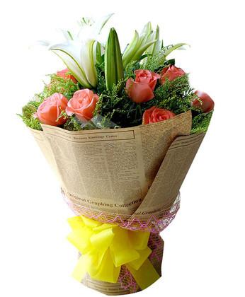 拉萨鲜花礼品鲜花-今生陪着你