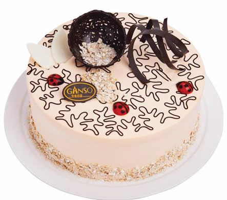 龙江鲜花-元祖蛋糕-黄金燕麦香芋