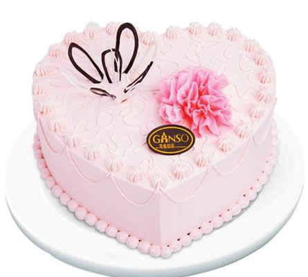 达州通川区鲜花-元祖蛋糕-甜蜜如心