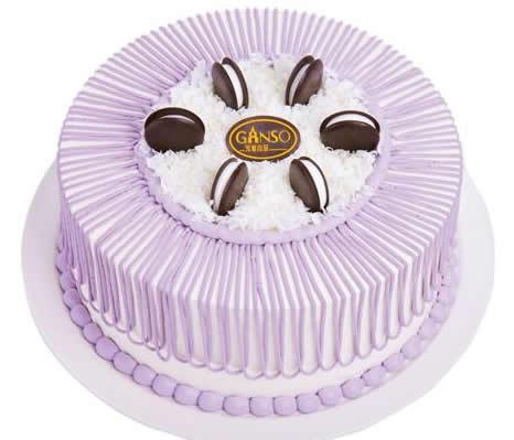 龙江鲜花-元祖蛋糕-紫芋香颂