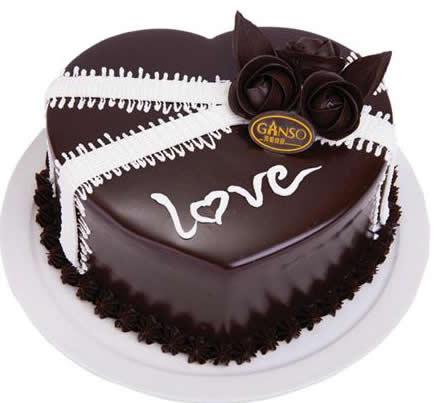 达州通川区鲜花-元祖蛋糕-LOVE