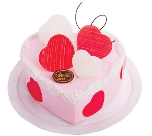 达州通川区鲜花-元祖蛋糕-情有独钟