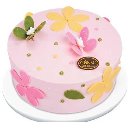 达州通川区鲜花-元祖蛋糕-缤纷贝蒂