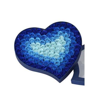 无锡肥皂花:肥皂花--渐变蓝
