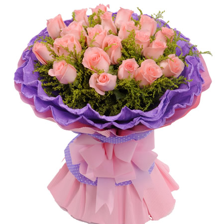 太原网上订花-粉色情真