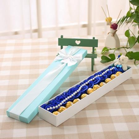 大连肥皂花:甜蜜祝福-蓝色