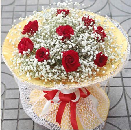 拉萨鲜花礼品鲜花-浪漫的爱