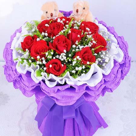 西安送花-亲密恋人