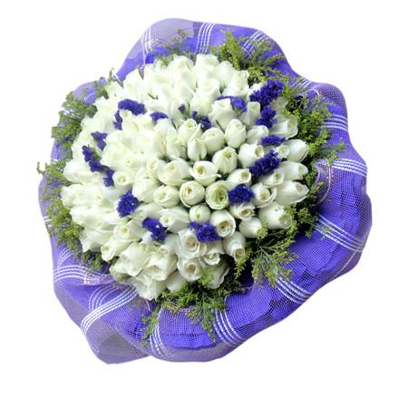 长沙鲜花预定:白色恋人