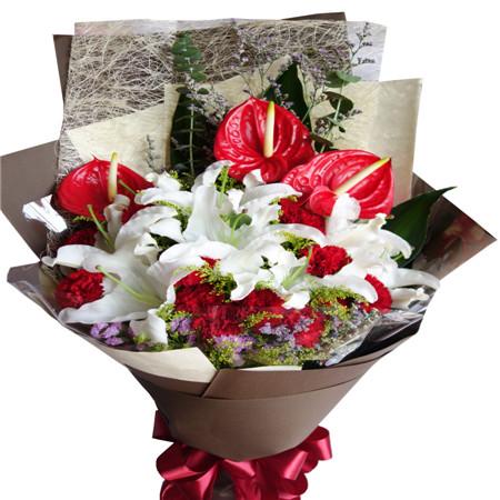 太原鲜花:友谊万岁