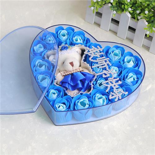 嘉兴肥皂花:18朵香皂花老师款蓝色