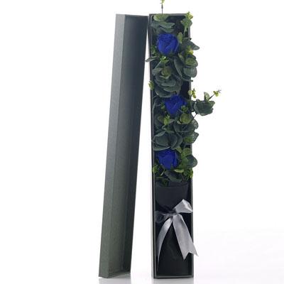 哈尔滨肥皂花:香皂花-3朵蓝玫瑰