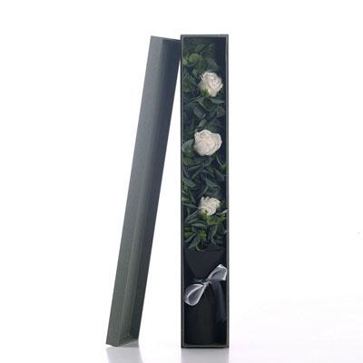 烟台肥皂花:香皂花-3朵白玫瑰