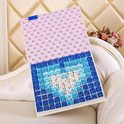 拉萨肥皂花:肥皂花-心形蓝色