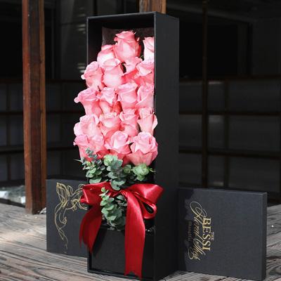 威海永生花:进口花-粉色的热恋