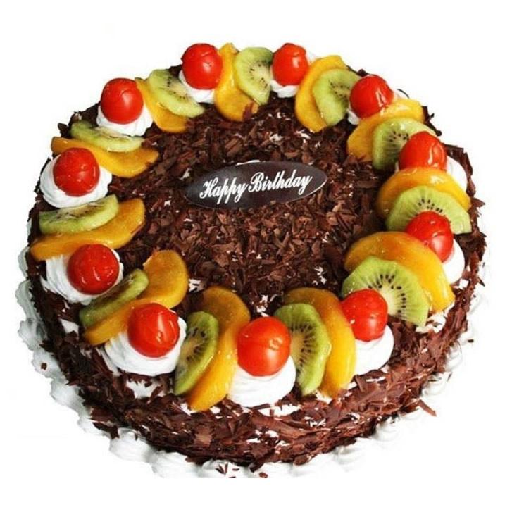 二连浩特鲜花-生日水果蛋糕
