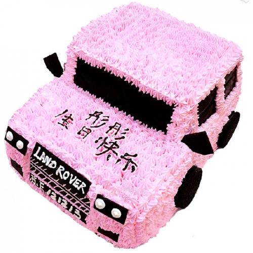 威海生日蛋糕:汽车达人