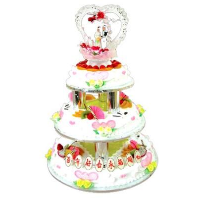 广宗鲜花-水果夹心蛋糕