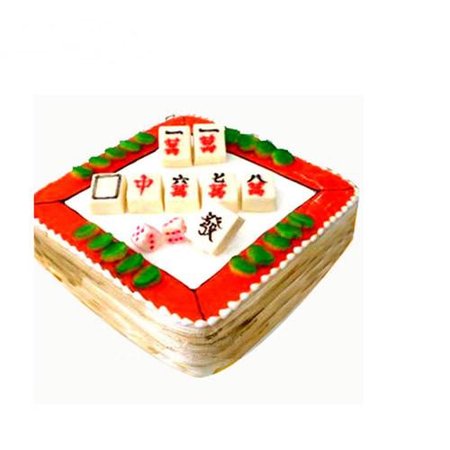 义乌生日蛋糕:旗开得胜