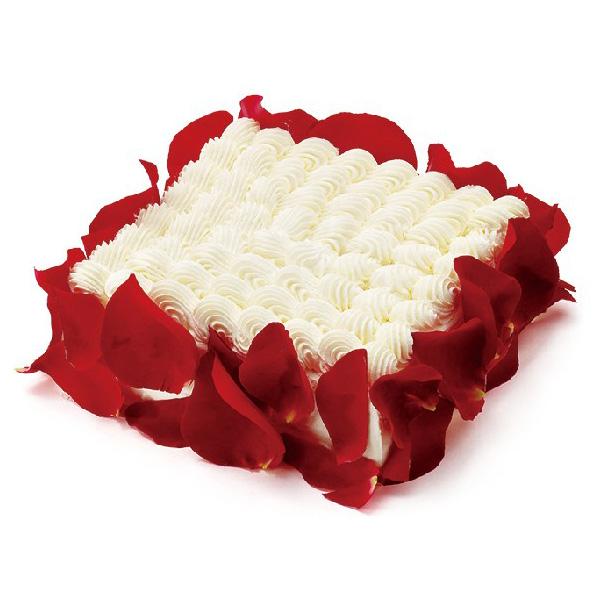 玫瑰花蛋糕-快乐心情