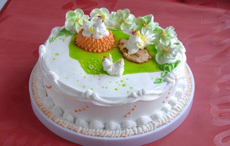 大连生日蛋糕:鸡年大吉