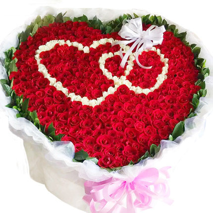嘉兴鲜花网:爱的篱笆