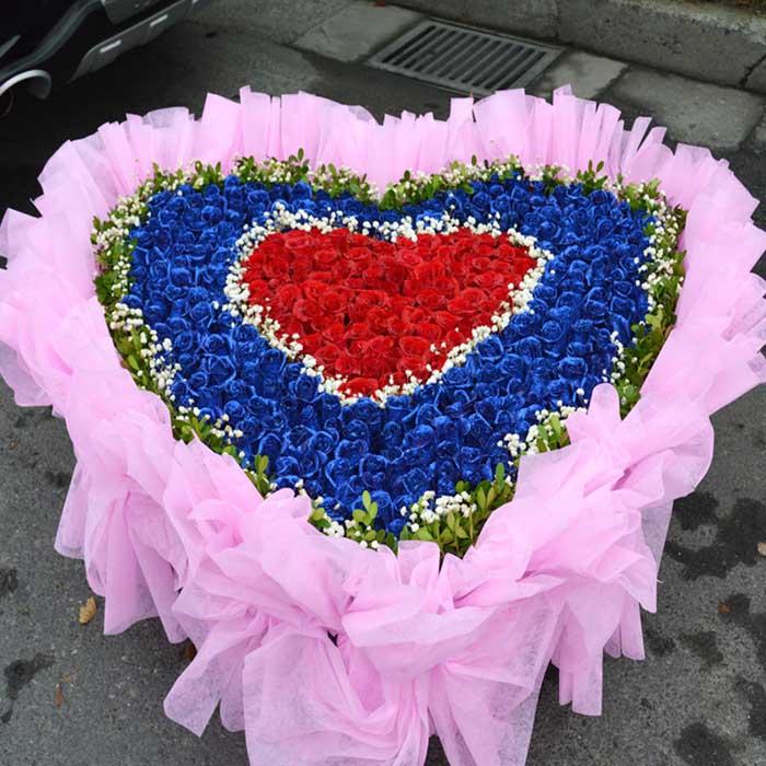 哈尔滨鲜花:爱你一生