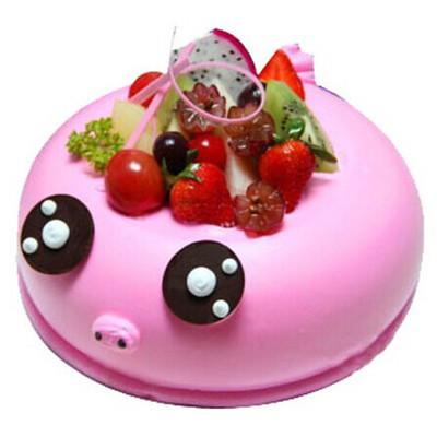 萌萌猪蛋糕