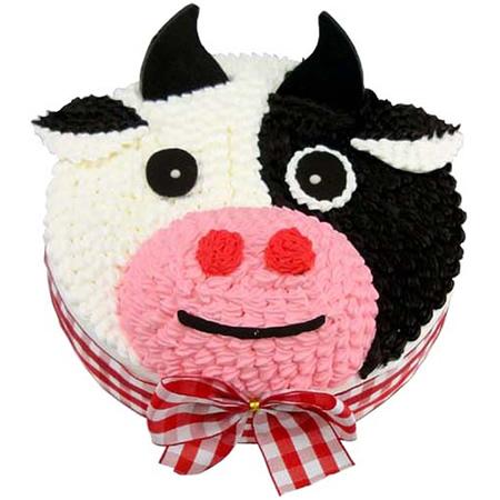 二连浩特鲜花-可爱牛牛