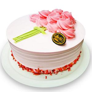 西安长安区鲜花-元祖蛋糕-以花为名鲜奶蛋糕