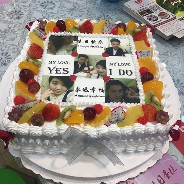 福州鲜花-数码蛋糕-浪漫满屋