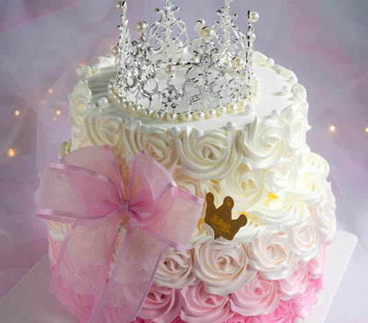 福州鲜花-皇冠生日蛋糕创意定制